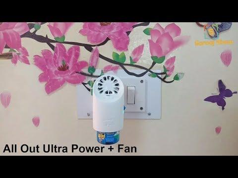 All Out Ultra Power + Fan