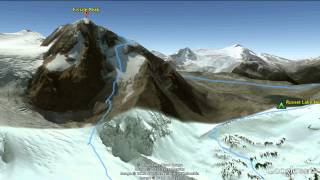 Fissile Peak Backcountry GPS Animation