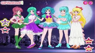 Game Thủy thủ mặt trăng pha lê |Trò chơi thời trang thủy thủ mặt trăng |SailorMoon Crystal Dress Up