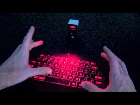 The Virtual Keyboard - Projector Keyboard Review