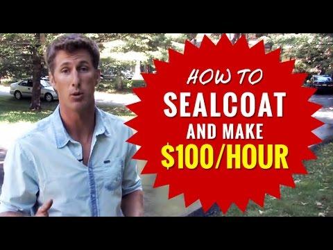 Make $100/Hour! Start A Sealcoating Business Turnkey Package | Asphalt Kingdom