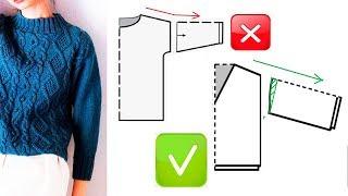 СКОС ПЛЕЧА и ВЯЗАНИЕ Важные тонкости при вязании скоса плеча и рукава Школа МК