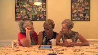 3 Golden Sisters on vajazzling