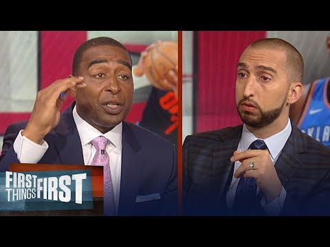 Cris and Nick on reports Houston Rockets intend to sign Carmelo Anthony | NBA | FIRST THINGS FIRST