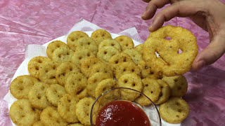 How To Make Potato Smiley | Easy Snacks For Kids Lunch Box