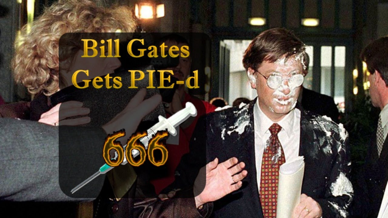 1998 - Bill Gates Gets Pie'd