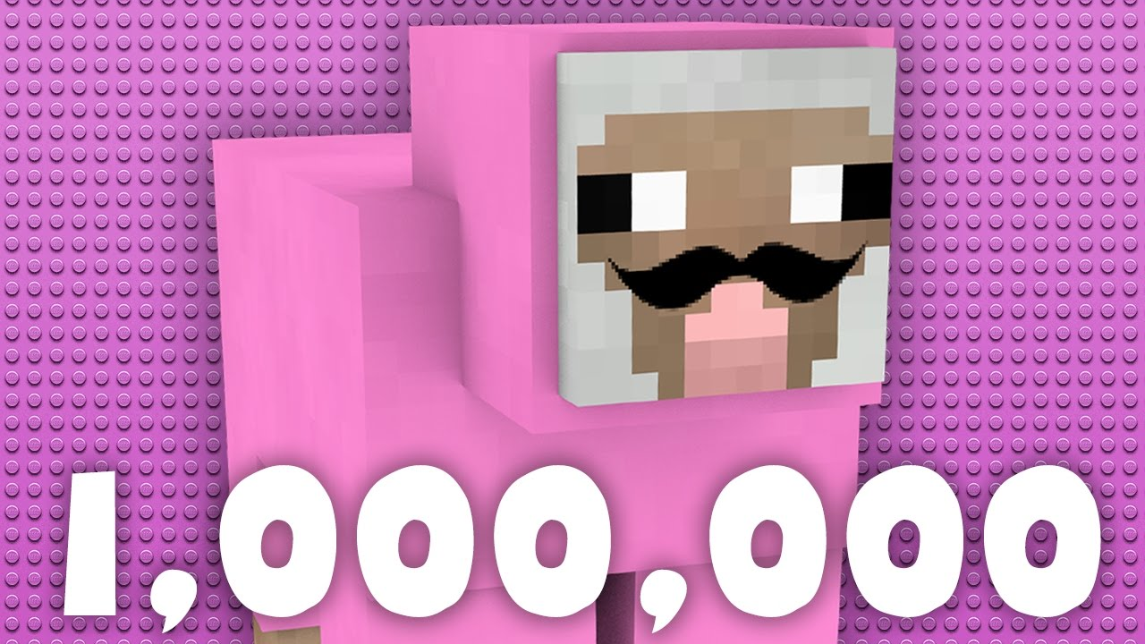 pink sheep 1 million subscribers youtube