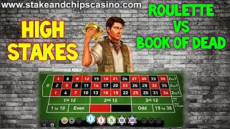ROULETTE Vs £50 SPINS on BOOK OF DEAD  !!🚨 HIGH STAKES !! 🚨 CASINO ACTION