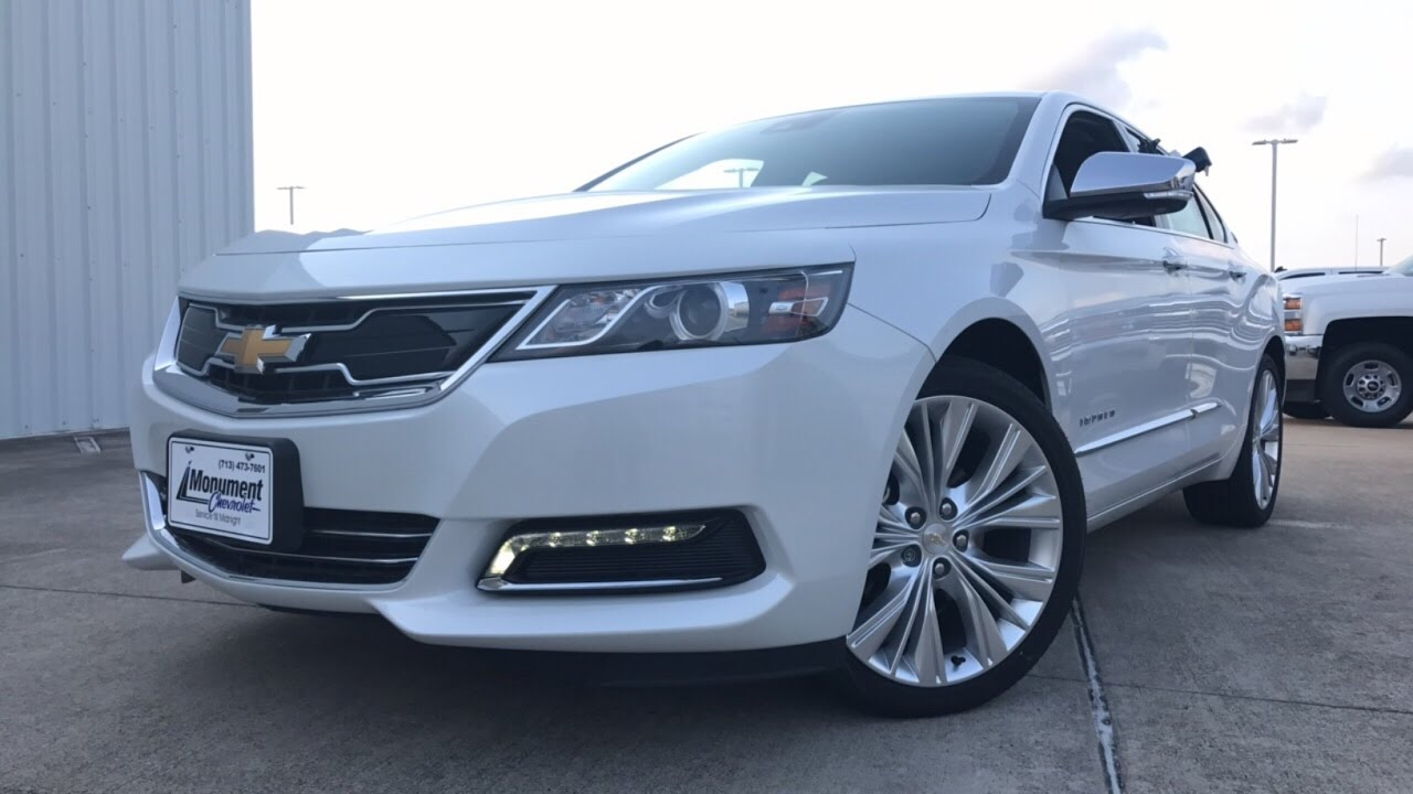 2017 Chevrolet Impala Premier 3 6l V6 Review
