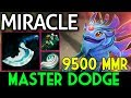 Master Dodge Level 9k5 MMR ? Puck by Miracle- 7.06 Dota 2