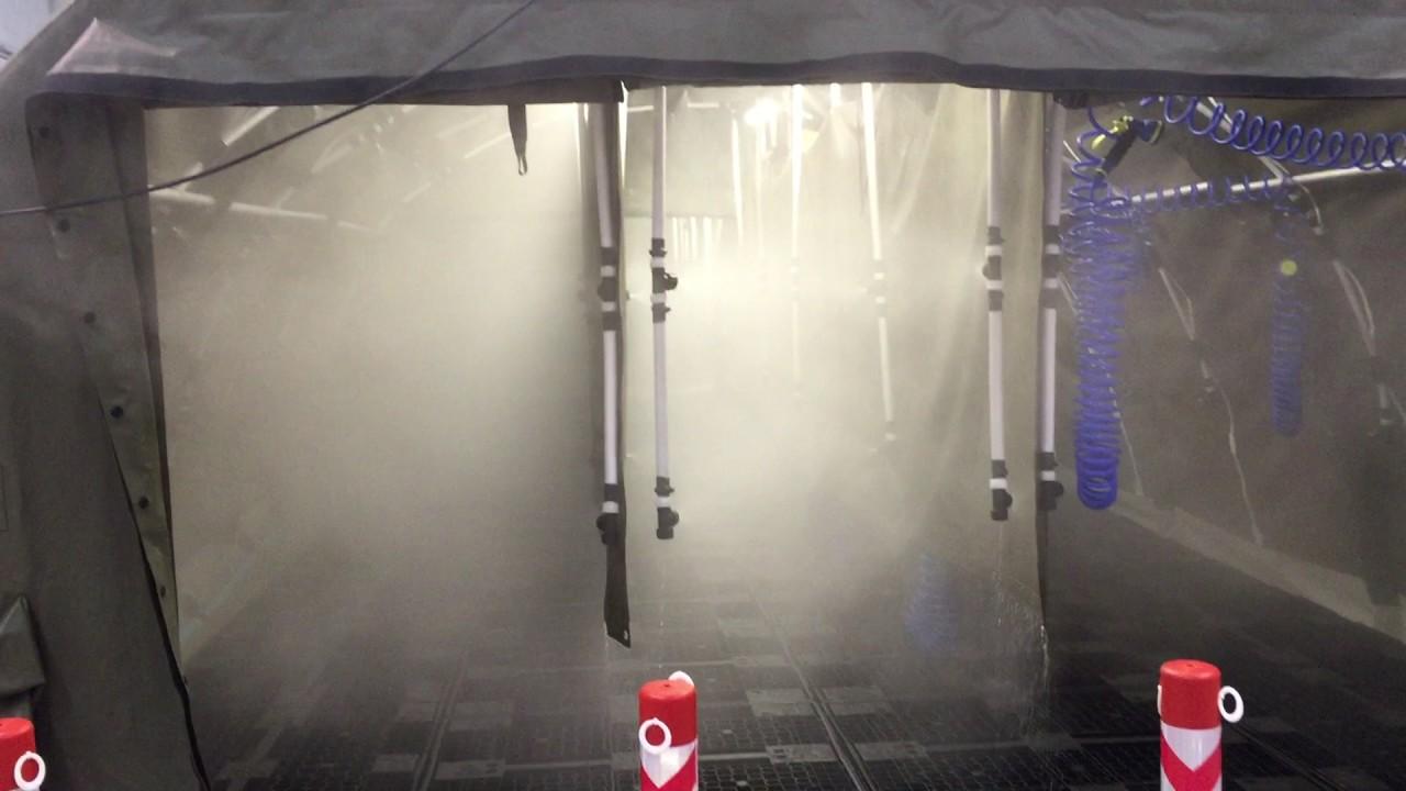 CBRN Massive Decon Station Personnel Tents & CBRN Massive Decon Station Personnel Tents - YouTube