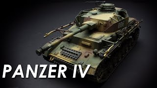 Building The Tamiya Panzer Iv - Timelapse - 1:35 Scale Kit