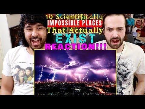 10 Scientifically IMPOSSIBLE PLACES That Actually EXIST - REACTION!!!