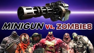 Dead Trigger 2 MINIGUN Mk10 vs. Zombies HD