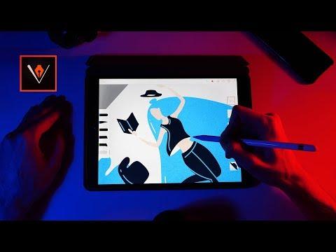 Adobe Illustrator Draw: Flat Illustration Tutorial