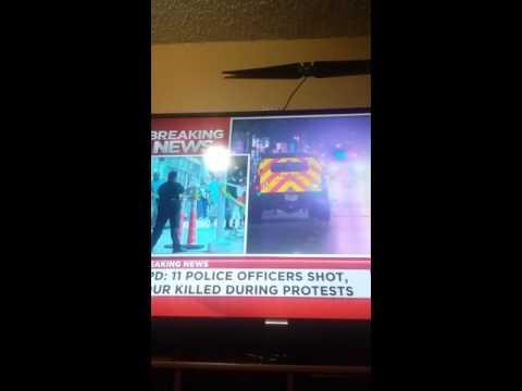 dallas shooting may spark civil war?