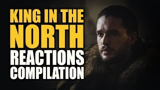 Game of Thrones KING IN THE NORTH Reactions Compilation