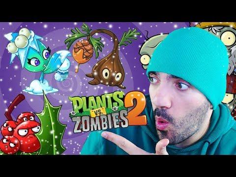 ESPECIAL PLANTAS DE NAVIDAD ⭐️ Plants vs Zombies 2 | iTownGamePlay