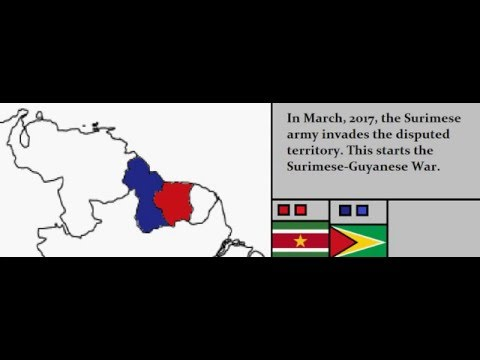 Pretend Wars: Suriname-Guyana War