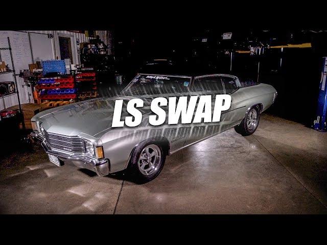Project Chevelle Episode 14: LS Swap