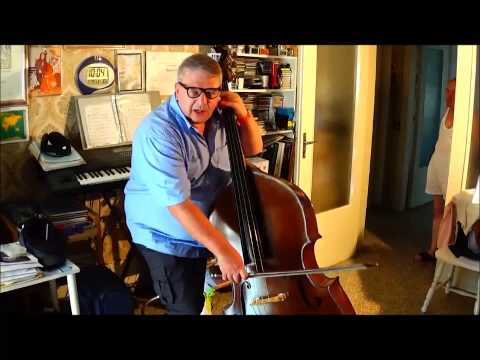 THE ITALIAN BOW for DOUBLEBASS (arco all' italiana) by VITO LIUZZI