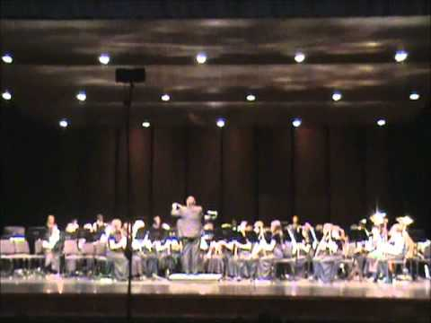 Fanfare for the Common Man (Canyon Vista Middle School Honors Band 2011)