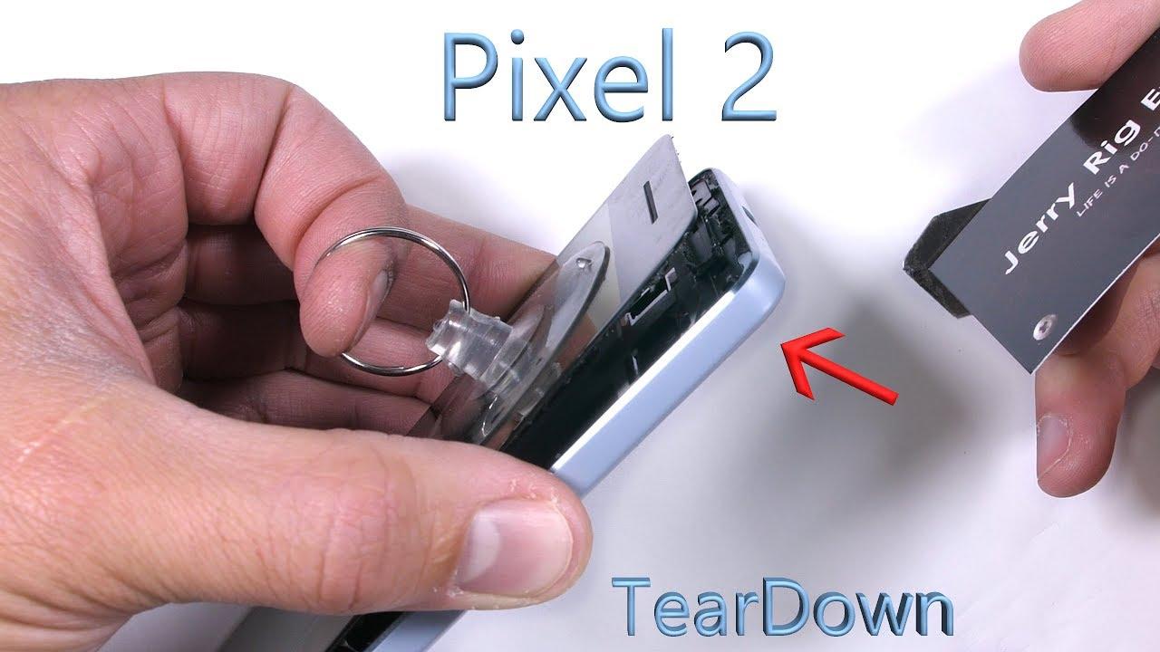 33a8a22c026 Pixel 2 Teardown! - Its actually kinda cool... - YouTube