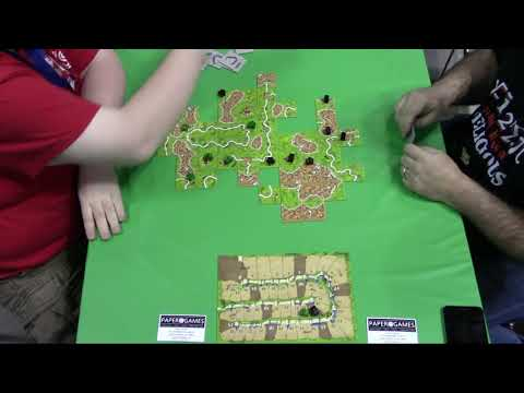 Gen Con 50 - Carcassonne National Championship - Final Match (Game 4)