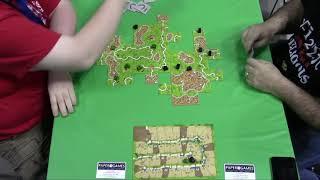 Gen Con 50 - Carcassonne National Championship - Final Match (Game 4)