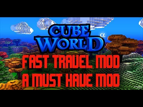 Cube world fast travel mod adds fast travel between all biomes cube world fast travel mod adds fast travel between all biomes and town portal must have mod gumiabroncs Gallery