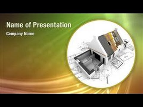 Architecture Design PowerPoint Video Template Backgrounds - DigitalOfficePro #01031V