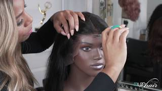 Cutting the Lace for a Natural Hairline // Wig Tips w/ Celebrity Hairstylist Kiyah Wright