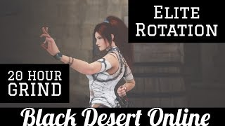 Black Desert Online [BDO] 75mil Per Hour, Elites at Cadry: Silver Breakdown (20 hours)