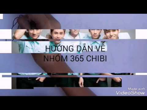 Hứa Thái Lĩnh- Hướng dẫn vẽ chibi nhóm nhạc 365 cực cute!
