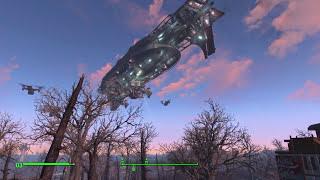 Fallout 4 - прибытие Братства Стали