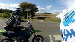Rassemblement moto à Riscle (gers)