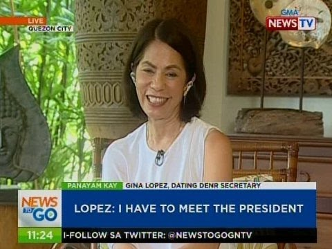 NTG: Panayam kay ex-DENR Sec. Gina Lopez