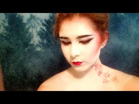 Geisha Makeup Tutorial