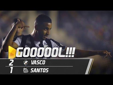 Vasco 2 x 1 Santos | GOL | Copa do Brasil (24/04/19)