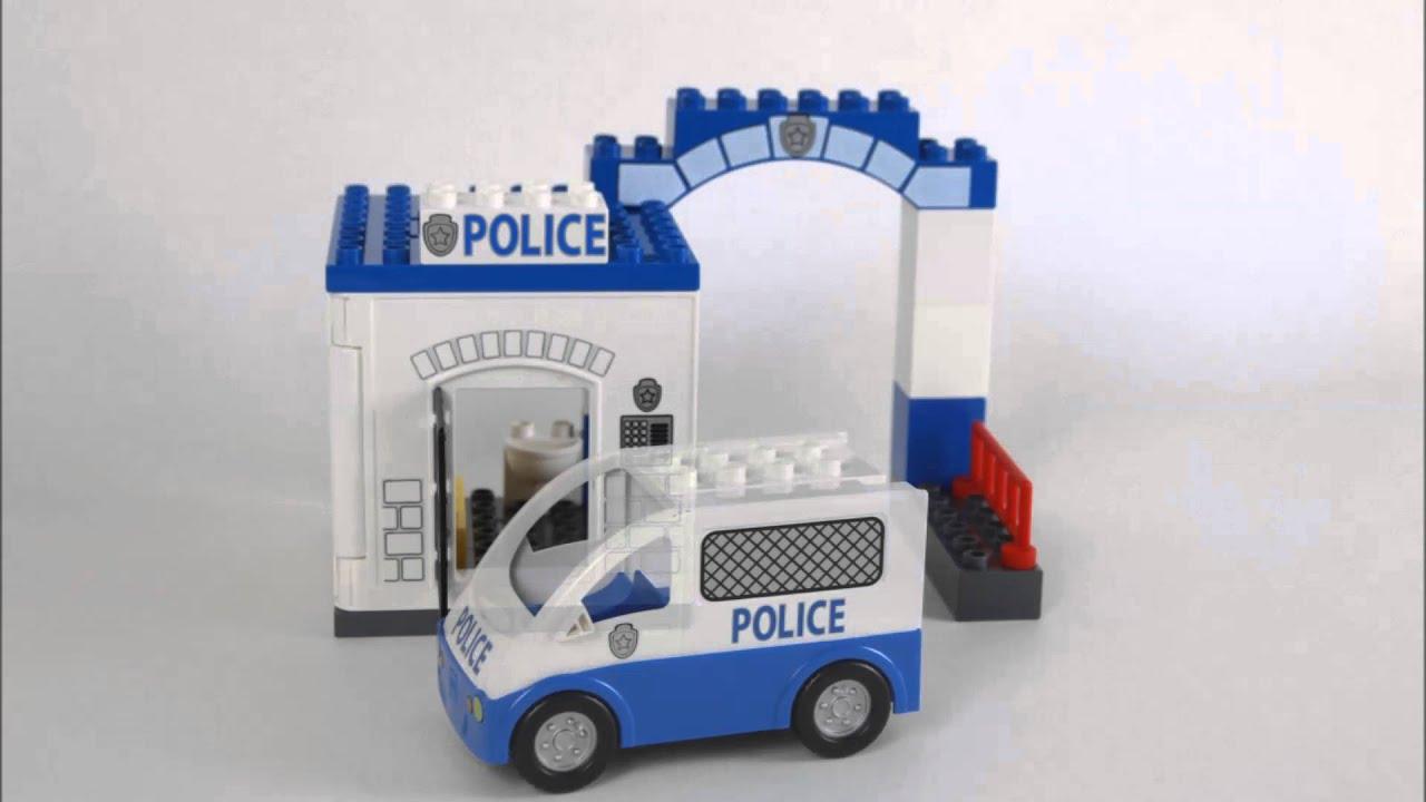Lego Duplo Police Station 5602 Youtube