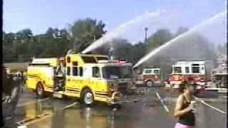 "maywood,nj Fire Department ""Engine 19"" wetdown Pt 4"