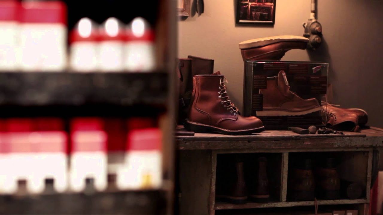Red Wing Shoe Store London - YouTube