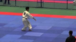 型 15歳~34歳男子(18名) 準優勝者 決勝型 http://kyokushin-shiga.com/...