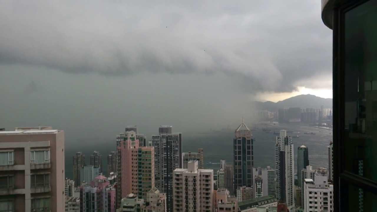 Rain storm in Hong Kong May 21 2013 - YouTube
