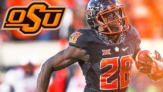 James Washington  2017 Biletnikoff Winner   Oklahoma State Highlights
