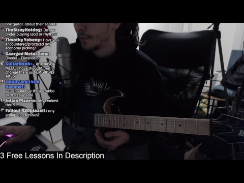 Live Metal Guitar Lesson
