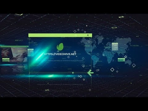 Technology Digital Project (After Effects project) ★ AE Templates ★ 2018