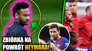 Zbiórka KASY na NEYMARA w FC Barcelonie! Pomylili HYMN! Francja - Albania! Eliminacje EURO 2020