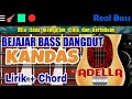 Amazing Belajar Bass Dangdut Kandas Chord Real Bass Populer