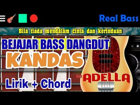 Belajar Bass Dangdut Kandas Chord Real Bass